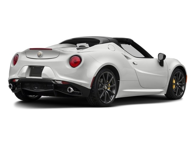 2018 Alfa Romeo 4C Spider Base Price Spider Pricing side rear view