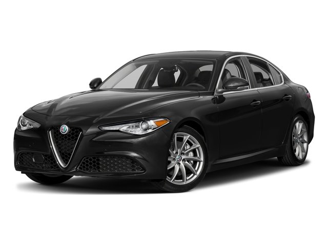 2018 Alfa Romeo Giulia Base Price Ti Lusso RWD Pricing side front view