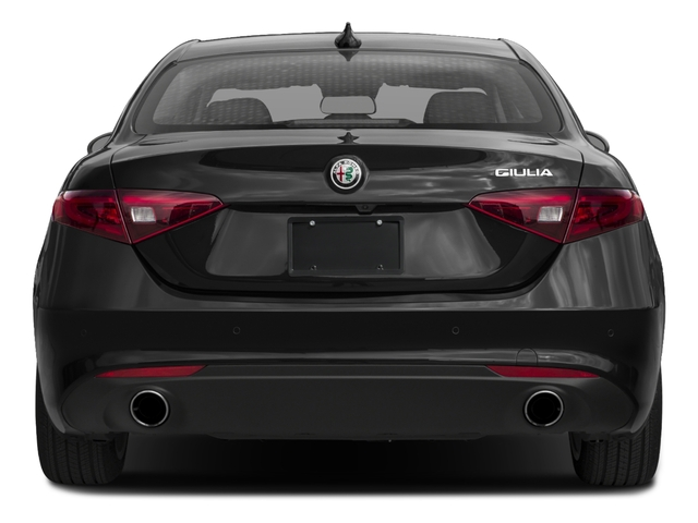 2018 Alfa Romeo Giulia Base Price Sport RWD Pricing rear view