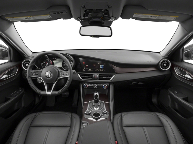 2018 Alfa Romeo Giulia Base Price Ti Lusso RWD Pricing full dashboard