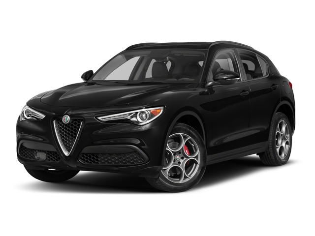 2018 Alfa Romeo Stelvio Base Price Sport AWD Pricing side front view