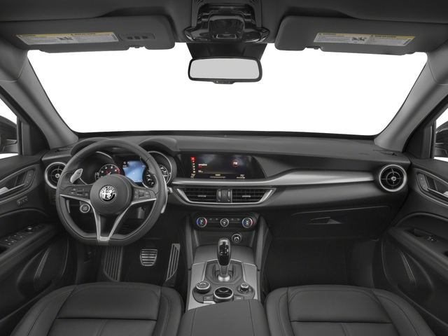 2018 Alfa Romeo Stelvio Pictures Stelvio Ti Sport AWD photos full dashboard