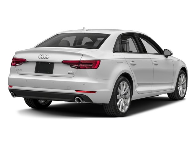 2018 Audi A4 Base Price 2.0 TFSI Premium Plus Manual quattro AWD Pricing side rear view