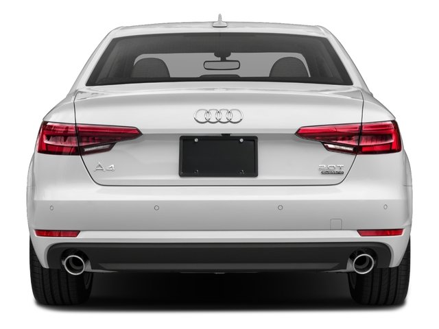 2018 Audi A4 Base Price 2.0 TFSI Premium Plus Manual quattro AWD Pricing rear view