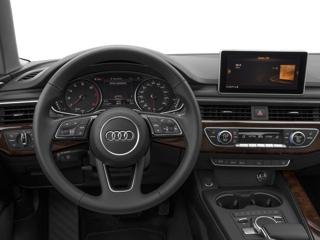 2018 Audi A4 Base Price 2.0 TFSI Premium Plus Manual quattro AWD Pricing driver's dashboard