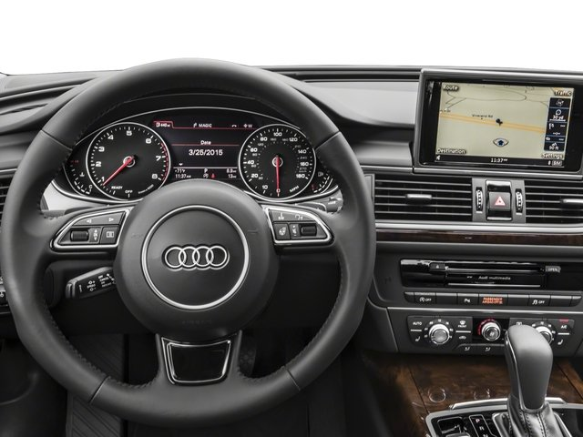 2018 Audi A6 Base Price 2.0 TFSI Premium quattro AWD Pricing driver's dashboard