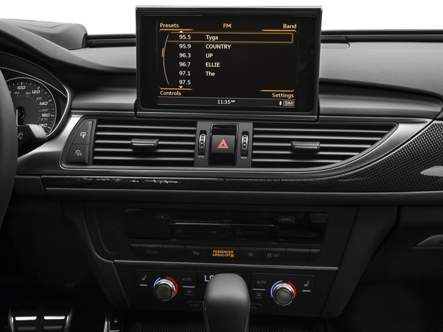 2018 Audi S6 Pictures S6 4.0 TFSI Prestige photos stereo system