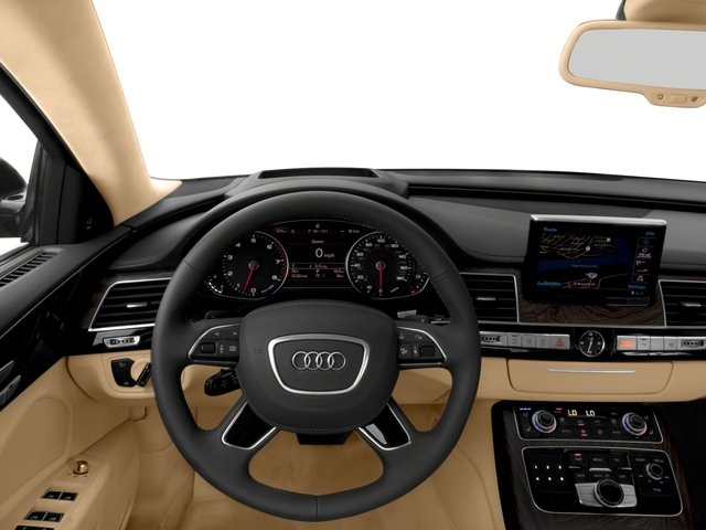 2018 Audi A8 L Base Price 4.0 TFSI Sport Pricing driver's dashboard