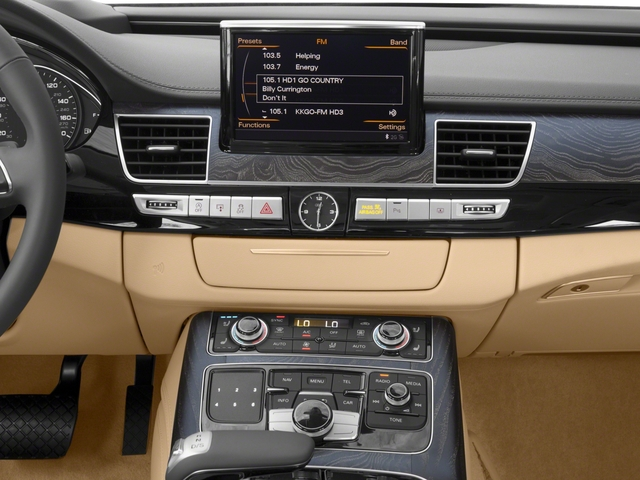 2018 Audi A8 L Pictures A8 L 4.0 TFSI Sport photos stereo system