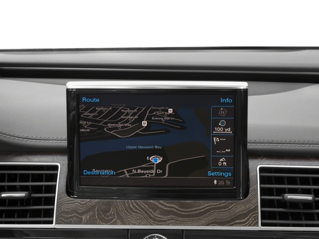 2018 Audi A8 L Base Price 4.0 TFSI Sport Pricing navigation system