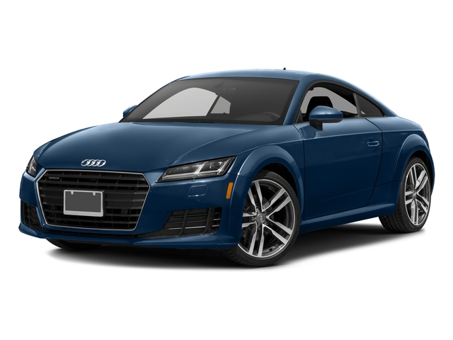 2018 Audi TT Coupe Pictures TT Coupe 2.0 TFSI photos side front view