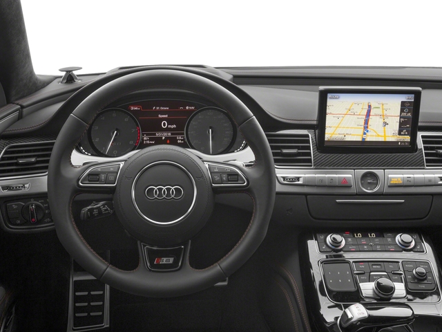 2018 Audi S8 plus Base Price 4.0 TFSI Pricing driver's dashboard