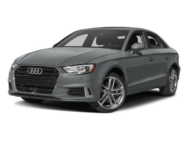2018 Audi A3 Sedan Base Price 2.0 TFSI Tech Premium FWD Pricing side front view