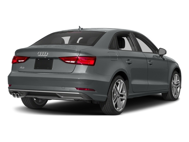 2018 Audi A3 Sedan Base Price 2.0 TFSI Tech Premium FWD Pricing side rear view