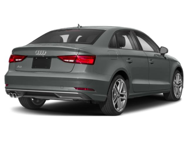 2018 Audi A3 Sedan Base Price 2.0 TFSI Premium Plus FWD Pricing side rear view