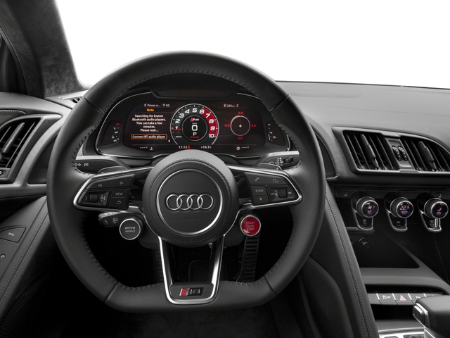 2018 Audi R8 Coupe Pictures R8 Coupe V10 quattro AWD photos driver's dashboard