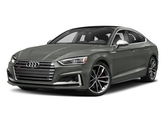 2018 Audi S5 Sportback Base Price 3.0 TFSI Prestige Pricing side front view