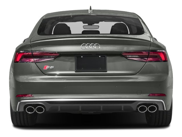 2018 Audi S5 Sportback Base Price 3.0 TFSI Prestige Pricing rear view