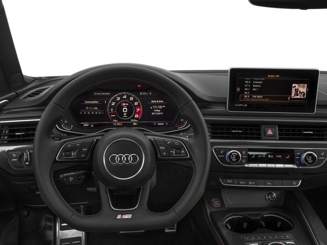 2018 Audi S5 Sportback Prices and Values Sedan 4D S5 Prestige AWD driver's dashboard