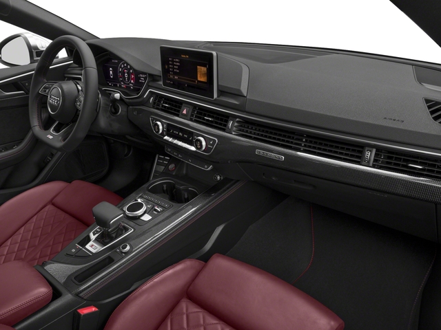 2018 Audi S5 Sportback Prices and Values Sedan 4D S5 Prestige AWD passenger's dashboard