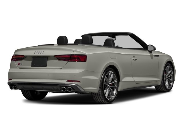 2018 Audi S5 Cabriolet Pictures S5 Cabriolet 3.0 TFSI Prestige photos side rear view