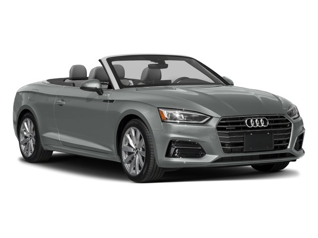 2018 Audi A5 Cabriolet Prices and Values Convertible 2D Premium AWD side front view