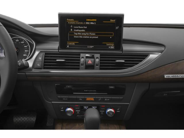 2018 Audi A7 Pictures A7 3.0 TFSI Premium Plus photos stereo system