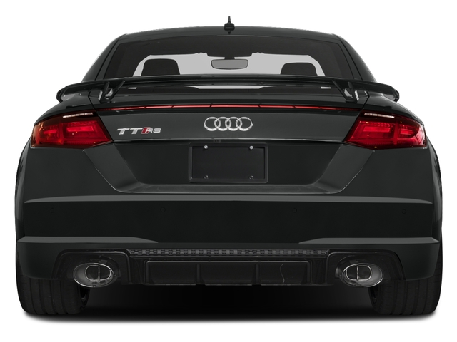 2018 Audi TT RS Pictures TT RS 2.5 TFSI photos rear view