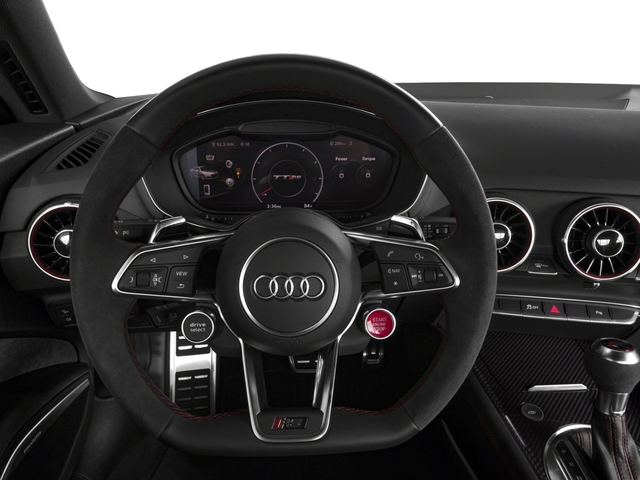 2018 Audi TT RS Base Price 2.5 TFSI Pricing driver's dashboard