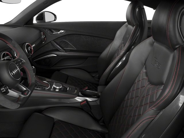 2018 Audi TT RS Pictures TT RS 2.5 TFSI photos front seat interior