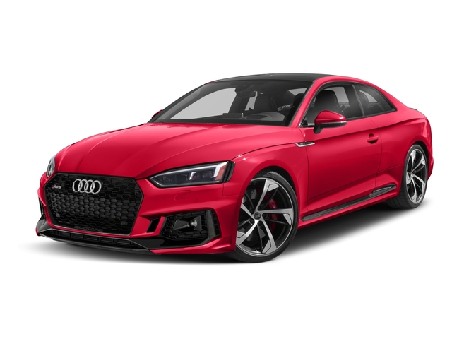 2018 Audi RS 5 Coupe Base Price 2.9 TFSI quattro tiptronic Pricing side front view