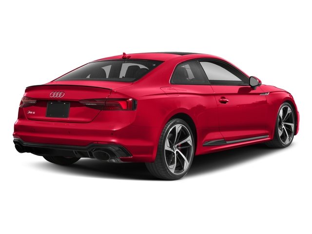 2018 Audi RS 5 Coupe Base Price 2.9 TFSI quattro tiptronic Pricing side rear view
