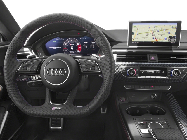 2018 Audi RS 5 Coupe Base Price 2.9 TFSI quattro tiptronic Pricing driver's dashboard
