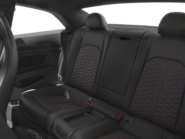 2018 Audi RS 5 Coupe Prices and Values Coupe 2D RS5 AWD backseat interior