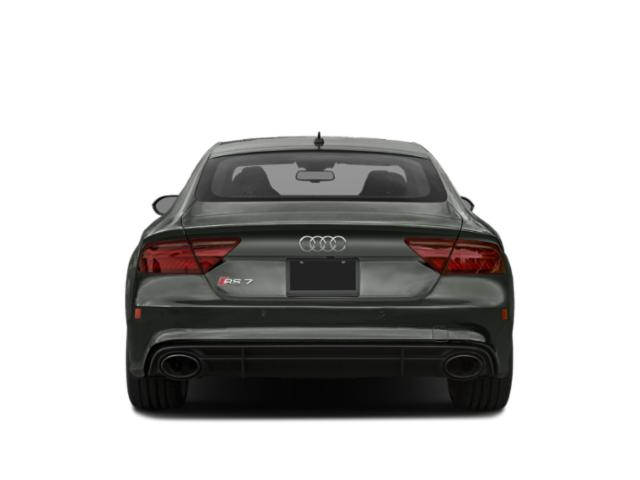 2018 Audi RS 7 Pictures RS 7 Sedan 4D RS7 Performance AWD photos rear view
