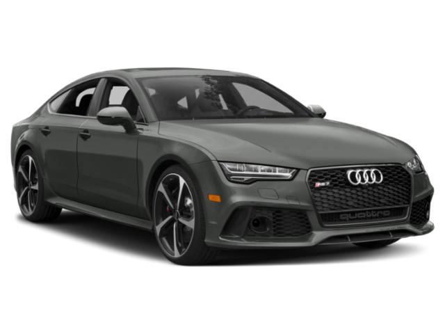 2018 Audi RS 7 Prices and Values Sedan 4D RS7 Prestige AWD side front view