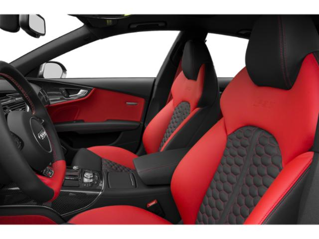 2018 Audi RS 7 Pictures RS 7 Sedan 4D RS7 Performance AWD photos front seat interior