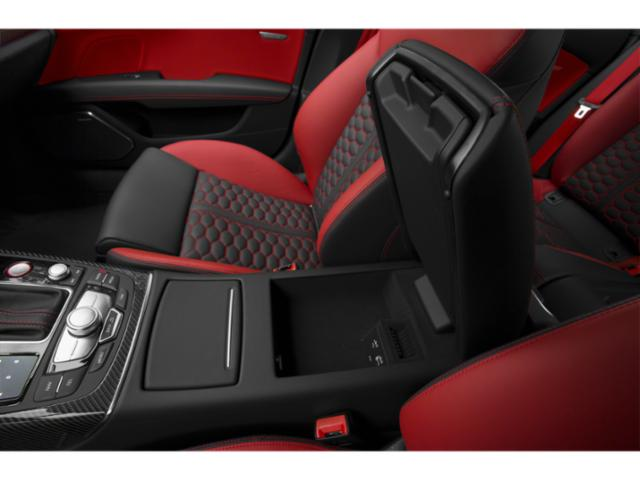2018 Audi RS 7 Prices and Values Sedan 4D RS7 Prestige AWD center storage console