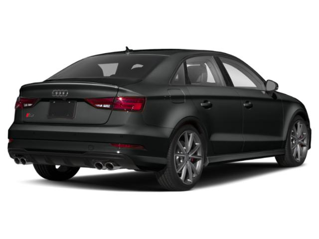 2018 Audi S3 Prices and Values Sedan 4D S3 Premium Plus AWD side rear view
