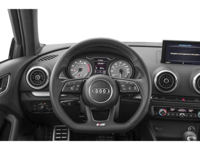 2018 Audi S3 Prices and Values Sedan 4D S3 Premium Plus AWD driver's dashboard
