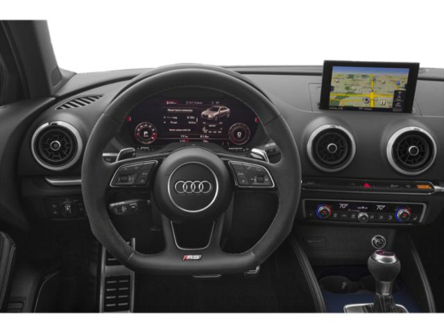 2018 Audi RS 3 Prices and Values Sedan 4D RS3 AWD driver's dashboard