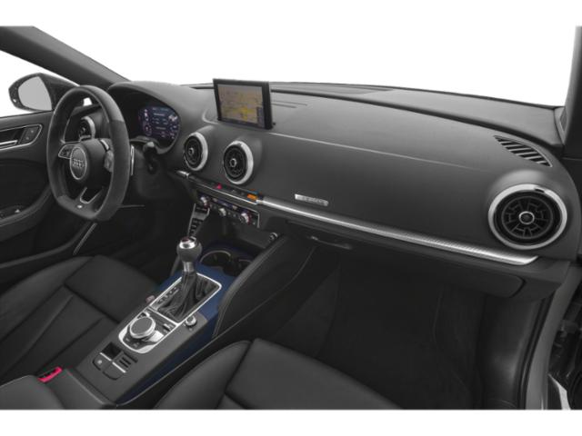 2018 Audi RS 3 Prices and Values Sedan 4D RS3 AWD passenger's dashboard