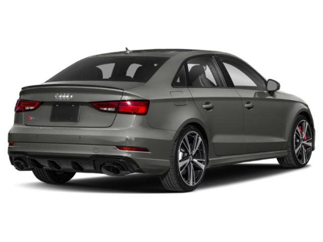 2018 Audi RS 3 Prices and Values Sedan 4D RS3 AWD side rear view
