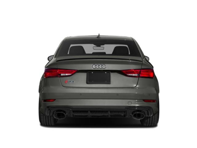 2018 Audi RS 3 Prices and Values Sedan 4D RS3 AWD rear view