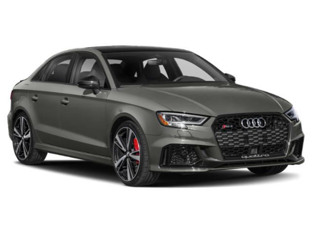 2018 Audi RS 3 Prices and Values Sedan 4D RS3 AWD side front view