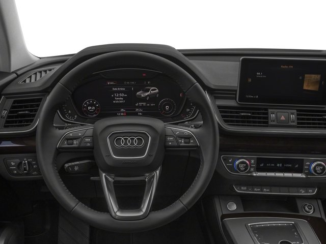 2018 Audi Q5 Base Price 2.0 TFSI Premium Pricing driver's dashboard