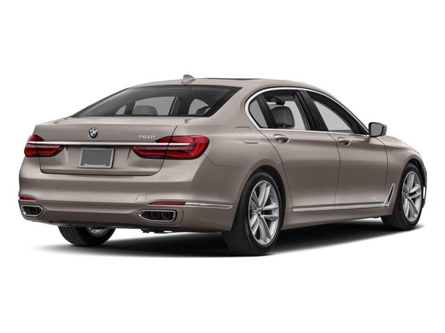 2018 BMW 7 Series Pictures 7 Series 750i Sedan photos side rear view