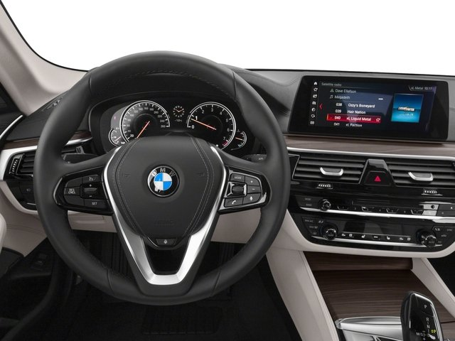 2018 BMW 5 Series Prices and Values Sedan 4D 530i driver's dashboard