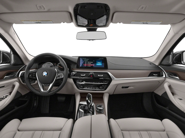 2018 BMW 5 Series Prices and Values Sedan 4D 530i full dashboard