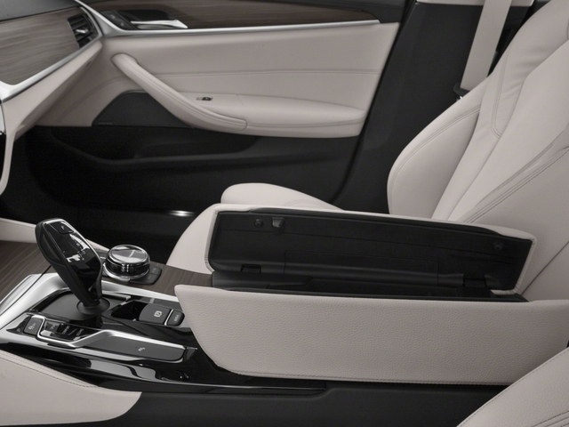 2018 BMW 5 Series Prices and Values Sedan 4D 530i center storage console